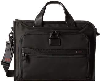 Tumi Alpha 2 - Slim Deluxe Portfolio Briefcase Bags