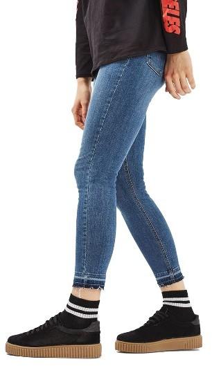TopshopWomen's Topshop Jamie Crop Skinny Jeans