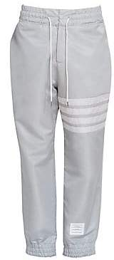 Thom Browne Men's Relaxed-Fit Stripe Track Pants