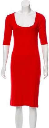 Ralph Lauren Short Sleeve Midi Dress