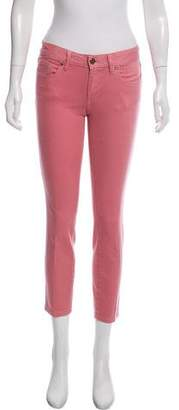 Tory Burch Mid-Rise Alexa Cropped Skinny w/ Tags