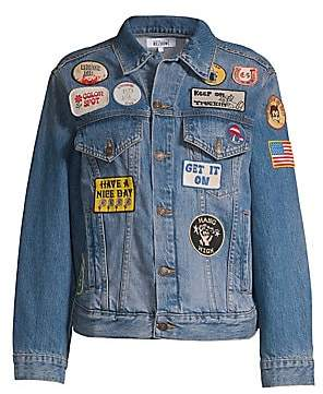 Solid & Striped Solid and Striped Women's X Re/Done The Patch Jean Jacket
