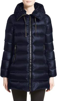 Moncler 'Suyen' Water Resistant Hooded Down Puffer Coat