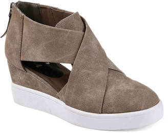 Journee Collection Seena Wedge Sneaker - Women's