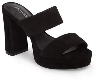 Jeffrey Campbell Adriana Double Band Platform Sandal (Women)