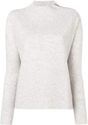 Allude round neck sweater
