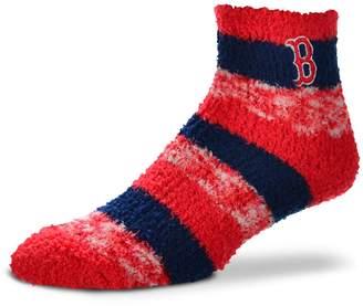 For Bare Feet Women's Boston Red Sox Pro Stripe Sleep Socks