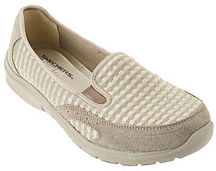 As Is Skechers Jersey Mesh Relaxed Slip-on Shoes - Comforter $39.75 thestylecure.com