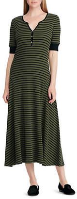 Lauren Ralph Lauren Striped Casual Dress