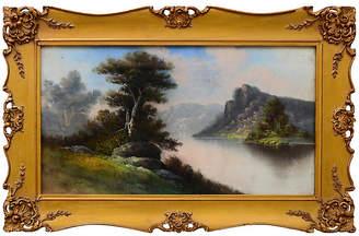 One Kings Lane Vintage Pastel Scene by William Henry Chandler - Robert Azensky Fine Art