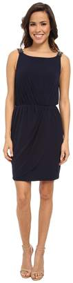 Jessica Simpson Ity Beaded Strap and Low Back Women's Dress
