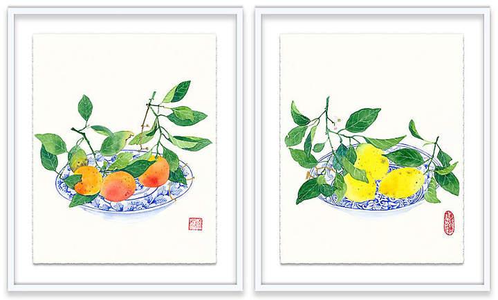 Clementines & Lemons Diptych - Gabby Malpas - 20