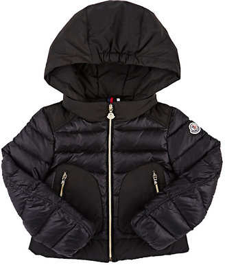 Moncler Down-Quilted Merveille Hooded Coat $475 thestylecure.com