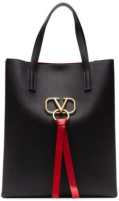 Valentino large VRING leather tote
