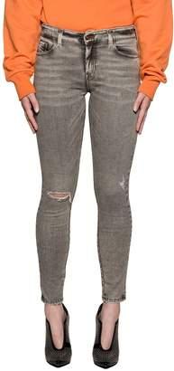 Diesel Light Gray Slandy Denim Jeans