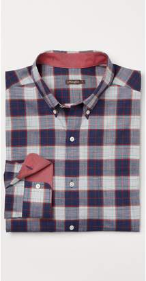 J.Mclaughlin Carnegie Classic Fit Flannel Shirt in Window Pane