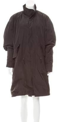 BLK DNM Oversize Knee-Length Coat