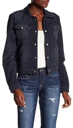 Hudson The Ren Trucker + CB Zipper Jacket