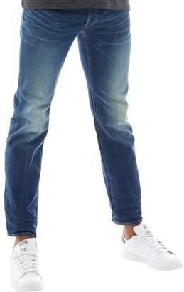G Star G-STAR Mens 3301 Straight Jeans Dark Aged