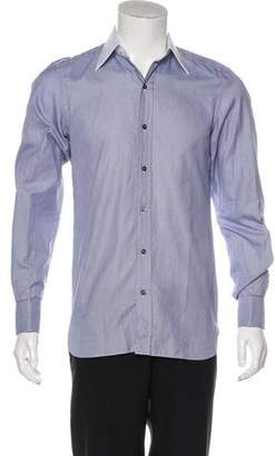 Tom Ford French Cuff Button-Up Shirt