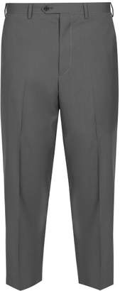 Prada Cropped Tailored Trousers - Mens - Grey