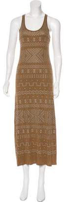 Torn By Ronny Kobo Embellished Maxi Dress