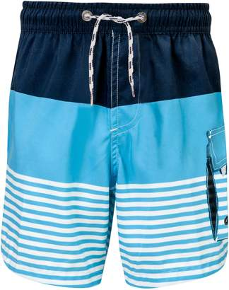 Snapper Rock Stripe Swim Trunks
