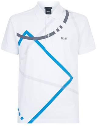 HUGO BOSS Paddy Abstract Polo Shirt