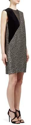 Lanvin Women's Metallic Leopard-Print Dress