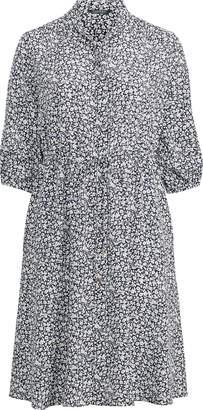 Ralph Lauren Print Crepe Shirtdress