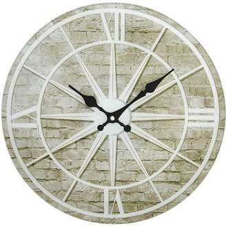 Very Hometime Glass Star Design Wall Clock