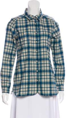 Pendleton Plaid Virgin Wool Top