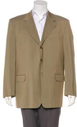 Fendi Wool-Blend Blazer brown Wool-Blend Blazer