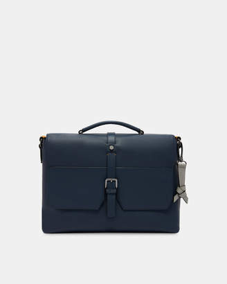 Ted Baker SANDUNE Leather messenger bag