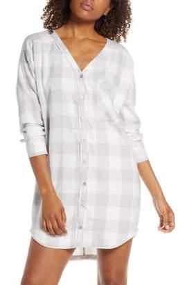 BP Check Flannel Nightshirt