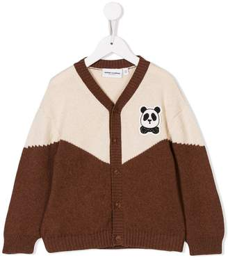 Mini Rodini panda-patch cardigan