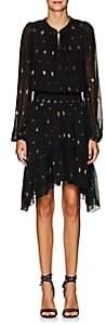 A.L.C. Women's Sidney Silk Chiffon Asymmetric Dress - Black