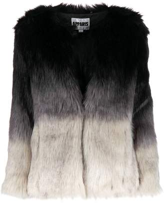 Apparis tonal faux fur jacket