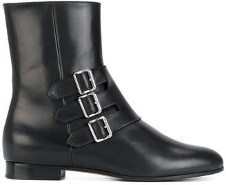 Unützer boots with buckle detail