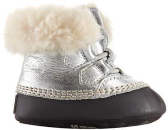 Sorel Cari Shearling Leather Booties