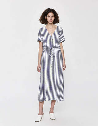 Lee Stelen Short Sleeve Striped Dress