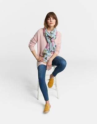 Joules Wensley Scarf ONE in Blue Chinoise Floral in One Size
