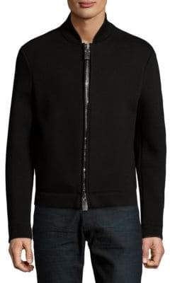 Emporio Armani Full Zip Bomber Coat