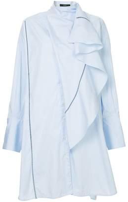 Ellery Metrica Drape Front Dress