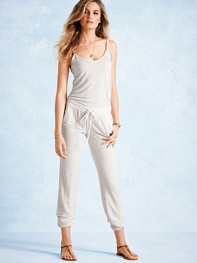 Victoria's Secret NEW! French Terry Jumpsuit