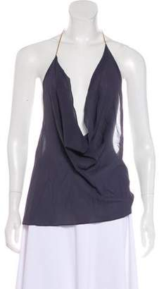 Brunello Cucinelli Sleeveless Halter Top