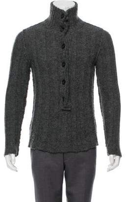 Dolce & Gabbana Cable Knit Cardigan Sweater