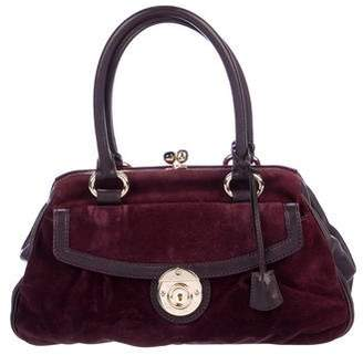 Marc Jacobs Suede Shoulder Bag