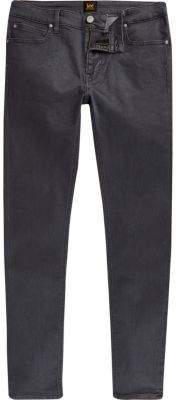 River Island Lee grey Malone skinny fit jeans