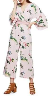 Miss Selfridge Floral Lace Jumpsuit